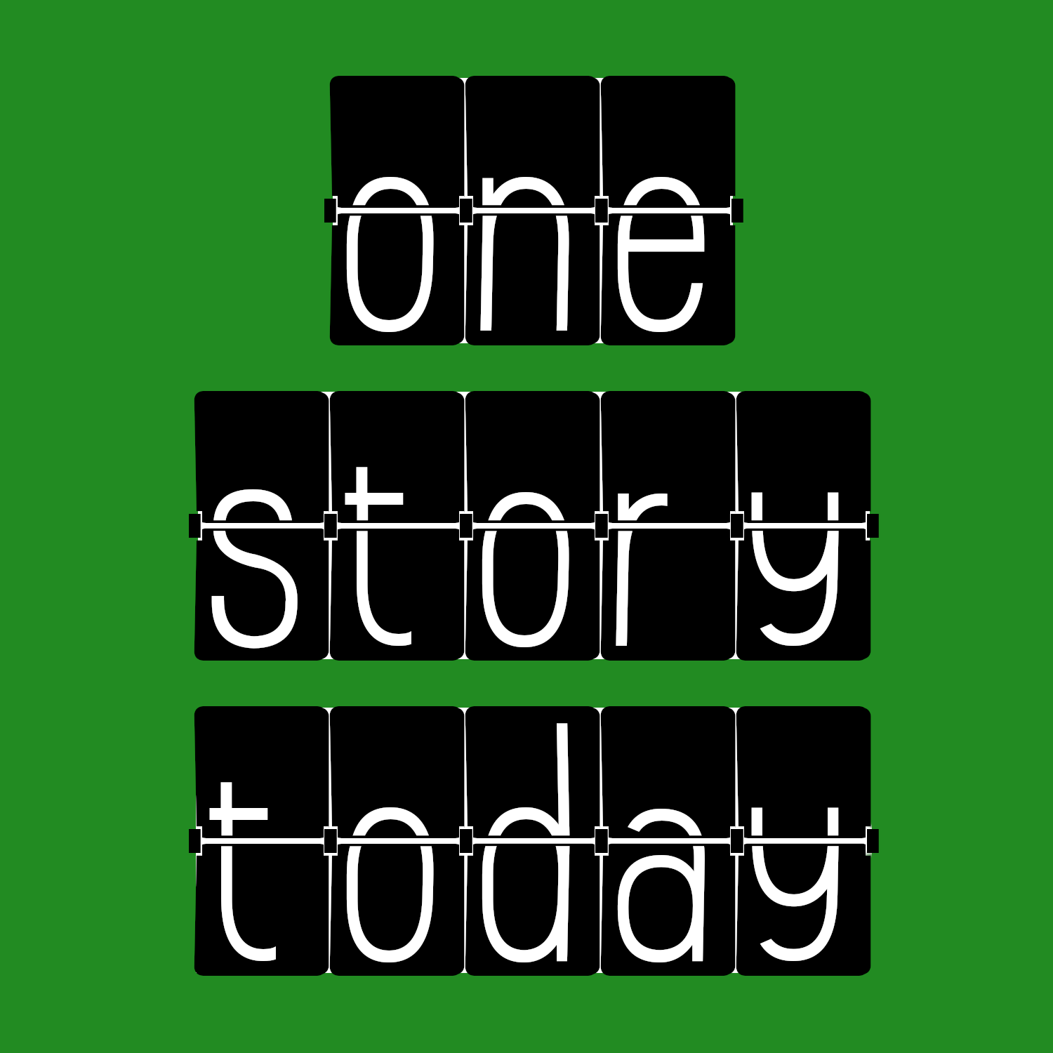 One Story Today